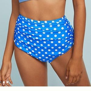 Anthropologie high waist bikini bottom